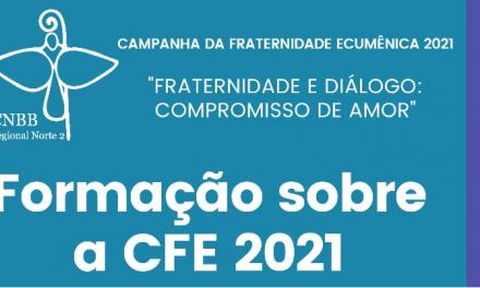 CNBB Norte 2 organiza Encontro de Formação para a CFE 2021