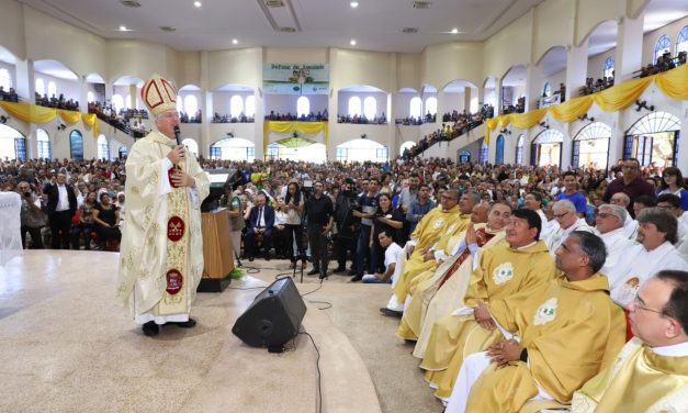 Missa marca um ano da Arquidiocese de Santarém e da posse de Dom Irineu Roman