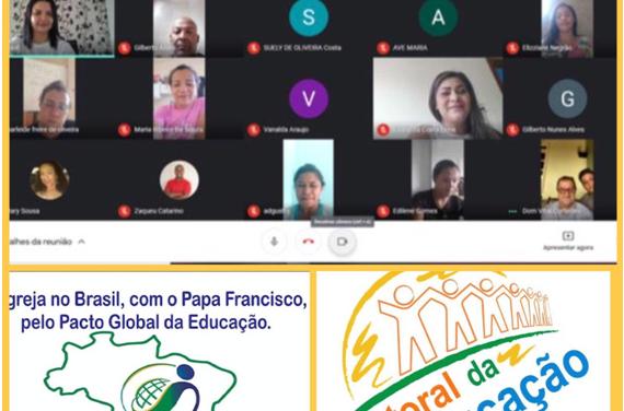 A Diocese de Marabá realizou encontros de formação sobre o Pacto Educativo Global