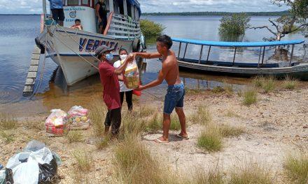 Em um mês, campanha de Combate à Fome entrega 569 cestas básicas a famílias carentes na Arquidiocese de Santarém