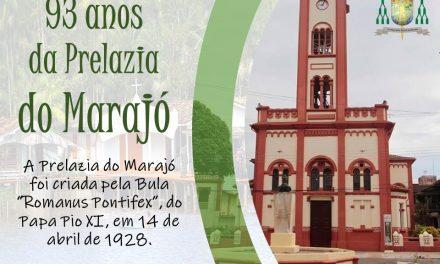 Prelazia do Marajó completa 93 anos