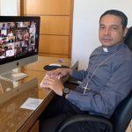 """""""A Assembleia é uma experiência de comunhão construída na diversidade"""", avalia Dom Lindomar Rocha, um dos bispos mais novos a participar do evento"""