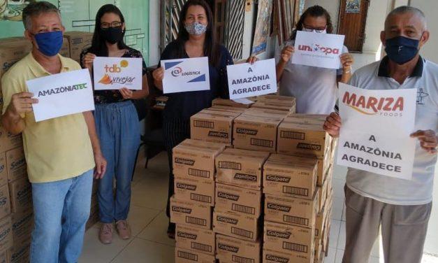 CNBB Regional Norte 2 continua realizando parcerias para a promoção do bem durante a pandemia