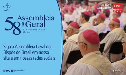 58ª Assembleia Geral da CNBB tem início na segunda-feira, dia 12 de abril; saiba como acompanhar
