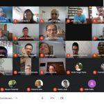 Lideranças no regional participam de encontro virtual