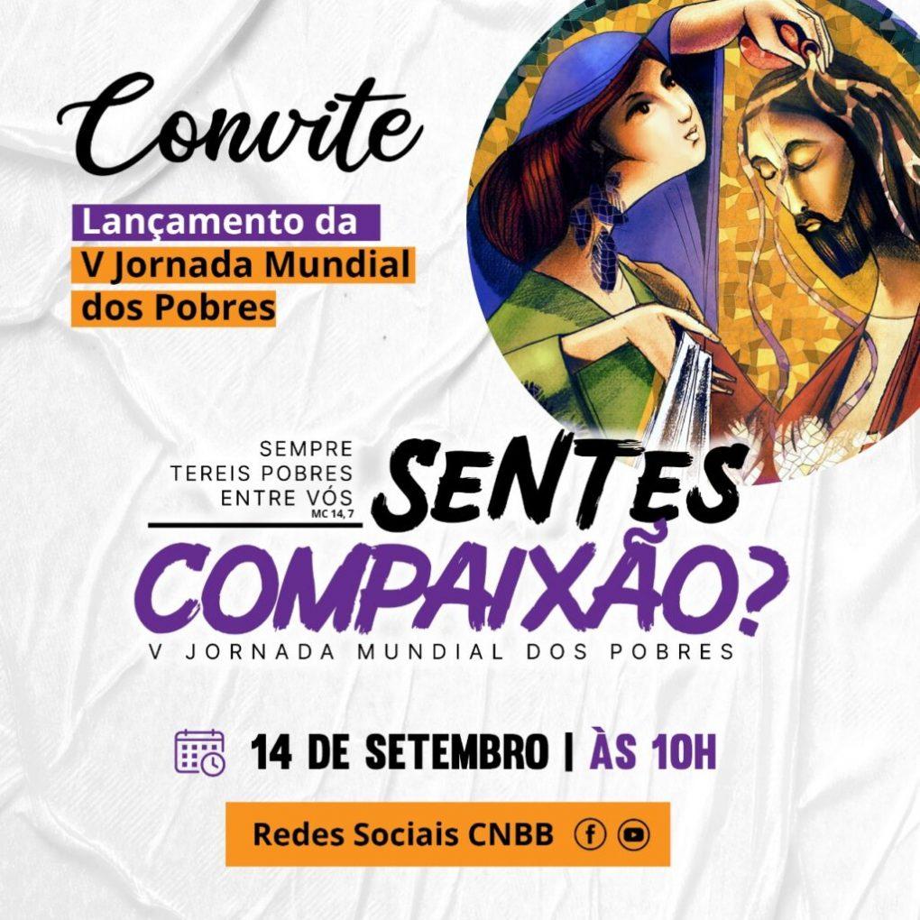 Lançamento da V Jornada Mundial dos Pobres no Brasil